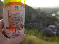 Evening Drink Overlooking Tbilisi