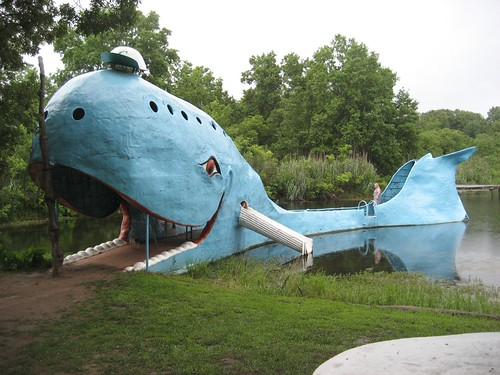 The Blue Whale in Catoosa