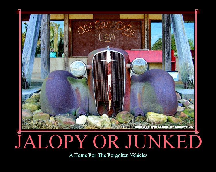 Jalopy Or Junked