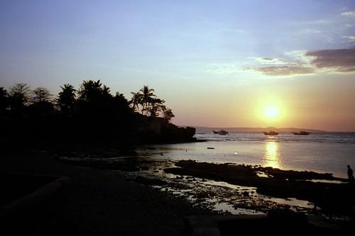 Sunset in Kupang