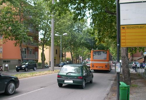 Bus Siccar 177 n° 418 - linea 12