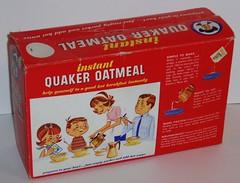 Quaker Instant Oatmeal box