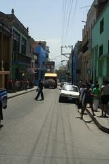One of the shopping streets of Santiago de Cuba