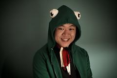 the frog (sgoralnick) Tags: party french costume frog phillip bastilleday whiskladle whiskandladle phillipckim bestcostumeaward
