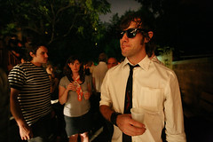(sgoralnick) Tags: party andy sunglasses backyard bastilleday corrina andyclymer whiskladle whiskandladle corrinadoublefisting