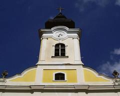 Kék ég / Blue sky (ssshiny) Tags: blue sky church temple hungary ég templom magyarország gödöllő kék gödöllőmáriabesnyő máriabesnyő máriabesnyőikegytemplom