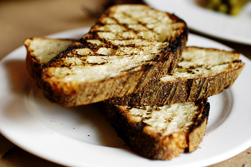 grilled bread, perfecto