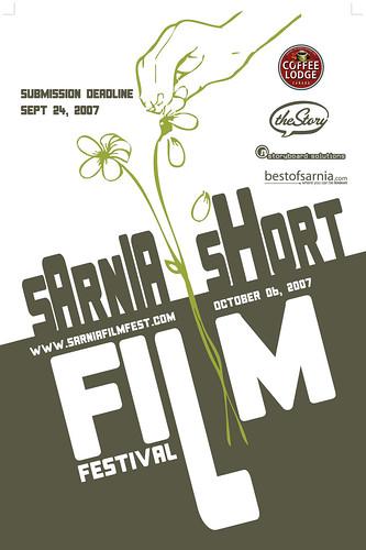 Sarnia Short Film Festival Poster