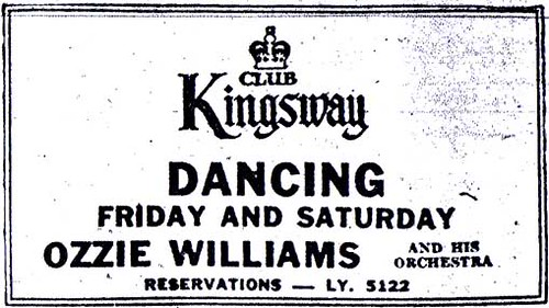 Vintage Ad #314: Weekend Dancing in Toronto, 1948