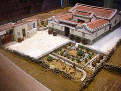三合院模型