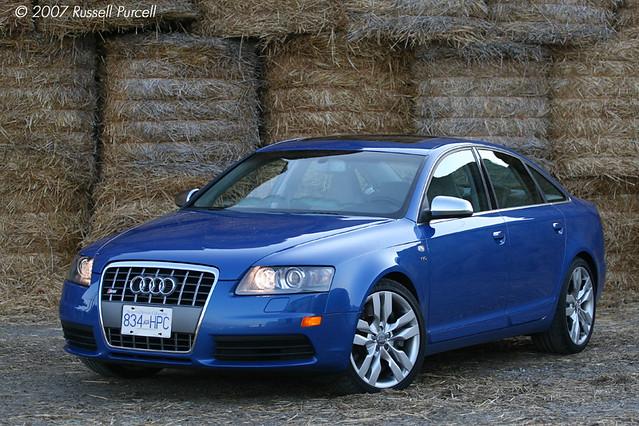 auto blue car sedan fast gt audi v10 a6 sportscar quattro audis6 ©2007russellpurcell ©russellpurcell russpurcell russellpurcell