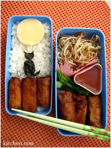 Bento 149: Lumpiang Shanghai Over the Moon!