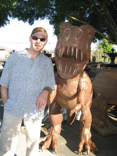 Kev and Lil' T Rex