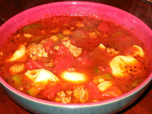 Hearty Tomato Pasta Soup