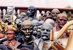 Communist Busts, Moscow (Roland E Brown) Tags: communist bust
