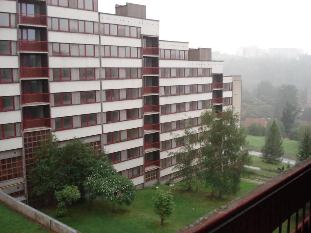 Liberec Studentenwohnheim - Blick auf Block E