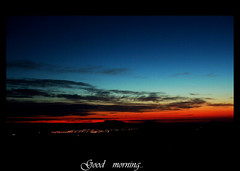 good morning (fringuellina) Tags: sardegna sunset orange sun green yellow sarah dawn sardinia alba blu sole brava albeggiare aplusphoto diamondclassphotographer flickrdiamond montegonare colourartaward fringuellina