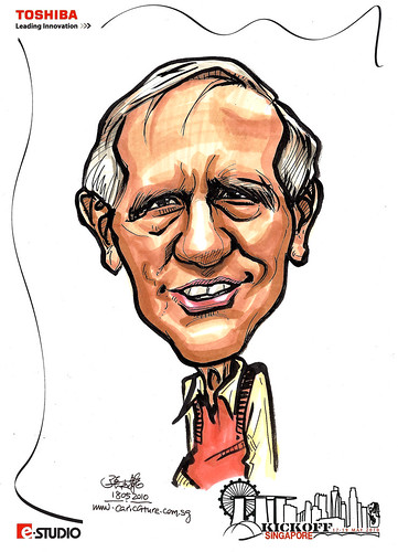Caricature of Bill