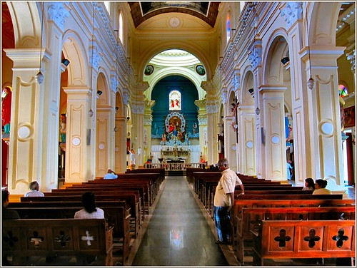 CHURCHES IN SRI LANKA. NEGOMBO.