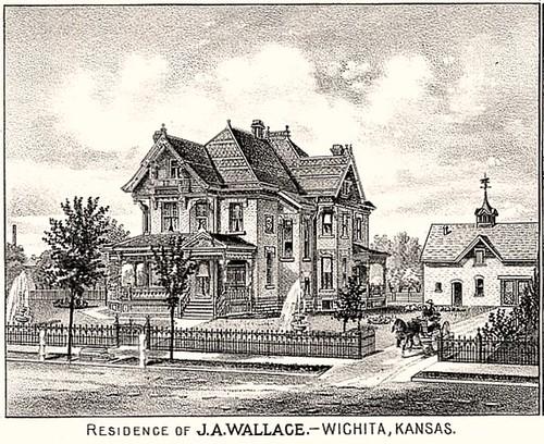 John A. Wallace Residence; Wichita, KS