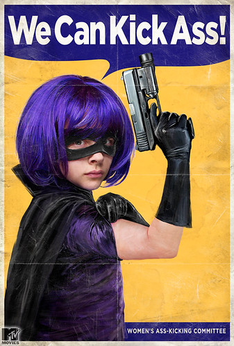MTV's Retro Hit Girl Poster