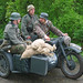 German Wehrmacht cyclist WH-291933 BMW R75