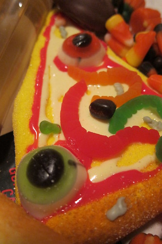 Halloween Candy: Eyeball Pizza