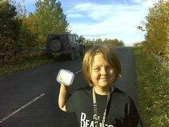 Little-10 ~ Happy Birthday Geocaching Photo