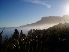 Dawn at Pancake Rocks