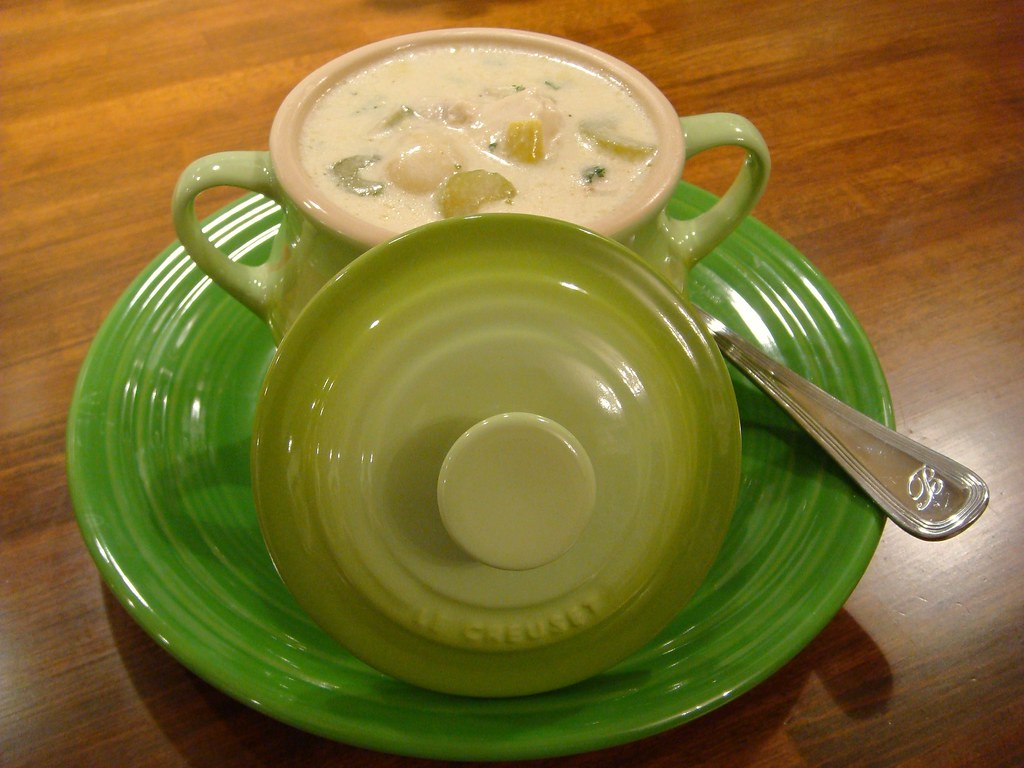 Creamy Chicken & Dumpling Stoup