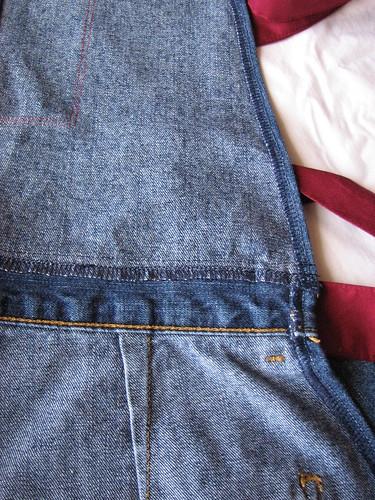 Blue Jeans Apron