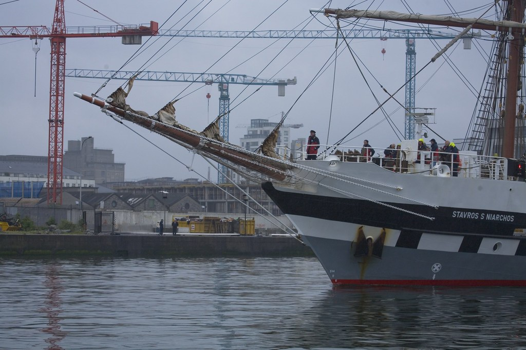 The Dublin Docklands Maritime Festival