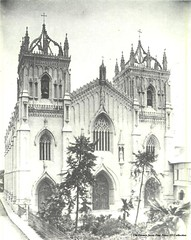 Iglesia de Santo Domingo - Intramuros [facade] (La Gran Seora de Filipinas) Tags: our heritage lady del de la shrine catholic dominican philippines holy most national rosario rosary naval domingo santo la santo naval manila domingo