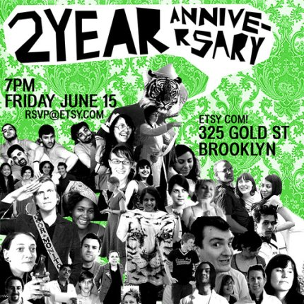 Etsy 2-Year Anniversary Party