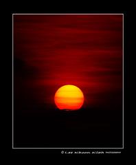 Red dawn (KhoonKiah) Tags: light red sun beach yellow sunrise dawn earlymorning malaysia interestingness67 i500 flickrsbest beginningoftheday aplusphoto nikkor70300mmvr pantaijerejakpenang explore20070615