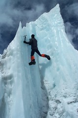 Ice Climbing at Base Camp (Deetrak) Tags: ice mike climber everest odonnell penitente serac nfb2001everestexpedition