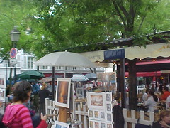 Painters in Monmartre - by Gauis Caecilius