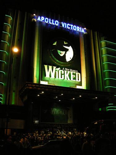 La caida de la bruja del Oeste: Wicked.