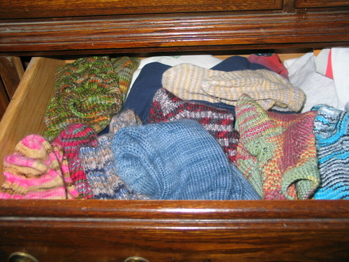 Handknit Sock Drawer