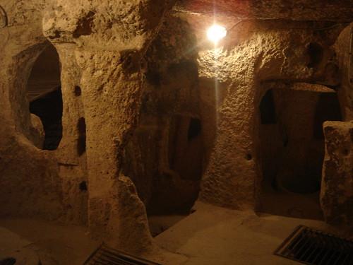 Ciudades subterráneas en Capadoccia Turquía