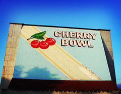 Cherry Bowl (farlane) Tags: 1955 movie michigan honor drivein benzie cherrybowl
