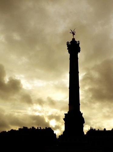 Paris XIe : Colonne de la Bastille