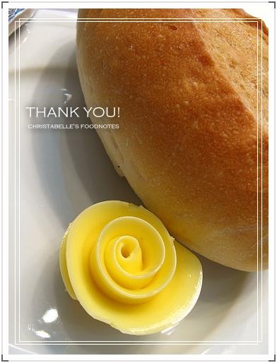 世貿聯誼社西餐廳麵包奶油