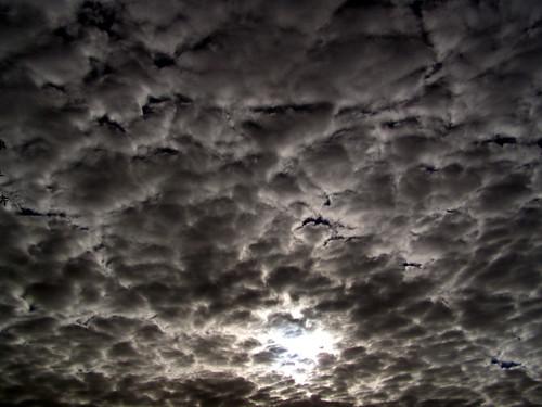 Dark clouds over How Tun Woods