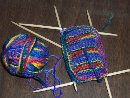 Start of the Rainbow Booties