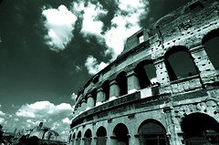 colosseum out (briantmurphy) Tags: travel italy rome architecture ancient tokina1224 colosseum btm