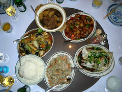 Chinese five Dishes