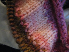 tulip sweater in progress