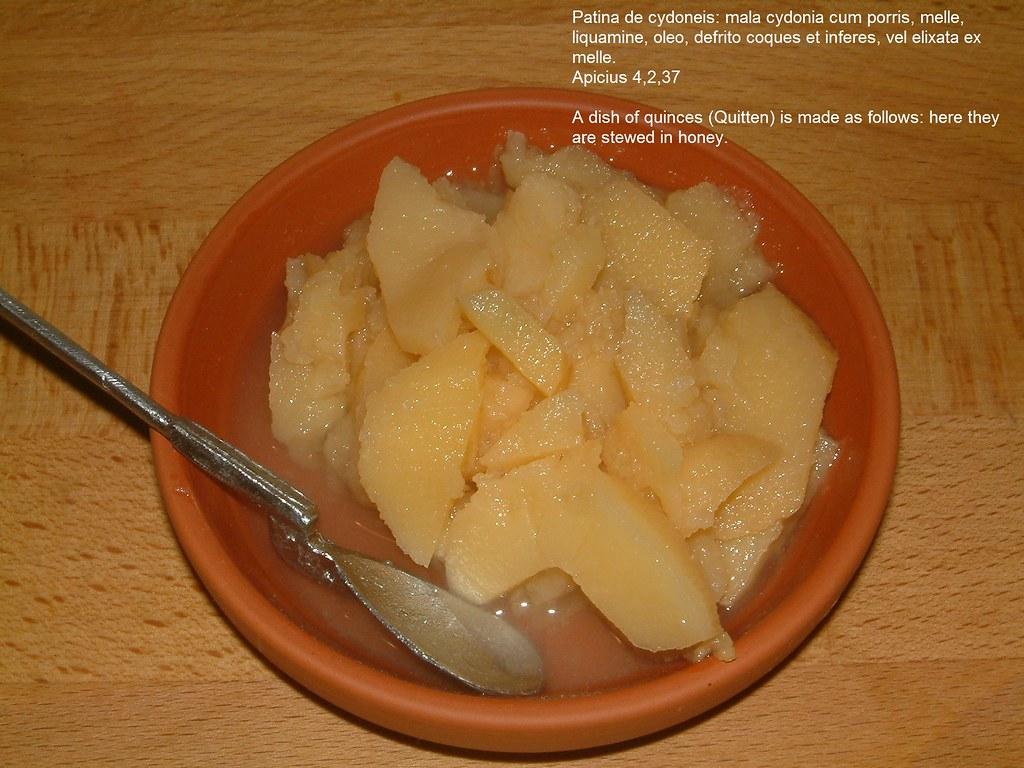 Patina de cydoneis - Quitten mit Honig