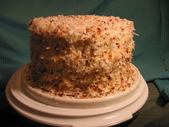 Triple-Layer Coconut Cake